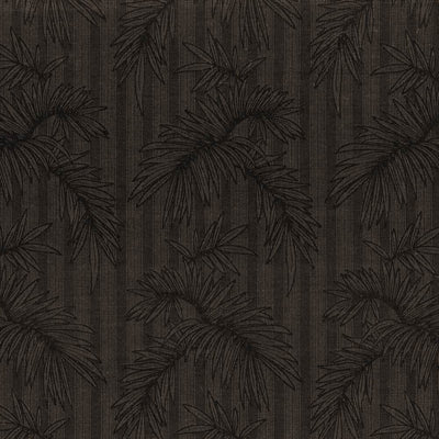 KASMIR FABRICS-GENTLE PALM IO - GRAPHITE