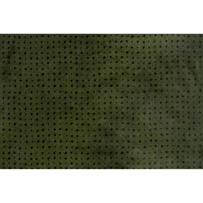 Groundworks Fabric - Dame - Olive/Ebony
