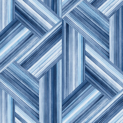 SEABROOK -GEO INLAY FABRIC (LW50102 COORDINATE)-DENIM AND SKY BLUE-LW51902F