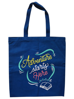 Adventure Starts Here Tote Bag