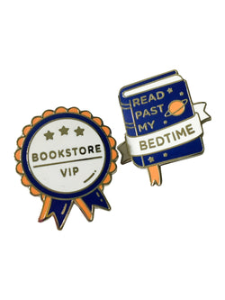 Book Achievement Badge Enamel Pins