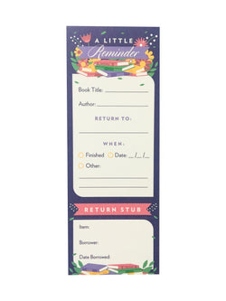 Borrowers' Bookmarks