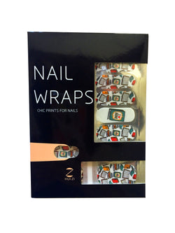 Book Bound Nail Wraps