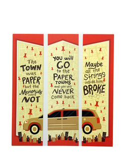 Paper Towns Bookmarks