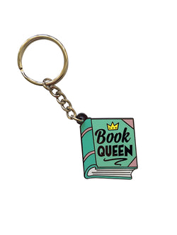Book Queen Keychain