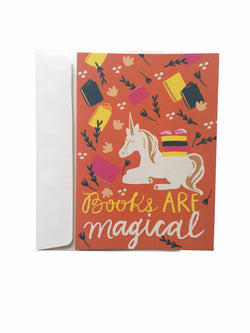 Books Are Magical Greeting Cards