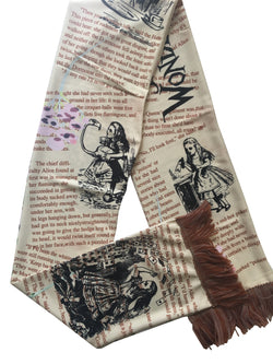 Alice in Wonderland Scarf