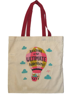 Reading Adventure Tote Bag