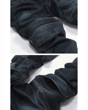 Kingpin Blue Motorcycle Jeans Large