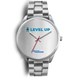 Level Up Women's Watch in Silver - Silver Face