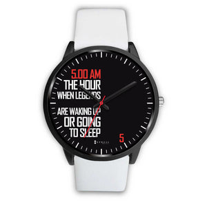 5:00 AM Men's Watch in Black