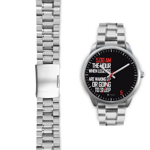 5:00 AM Women's Watch in Silver