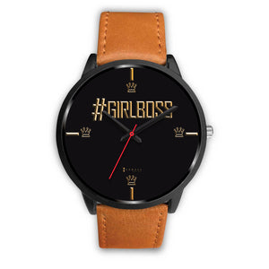 #GirlBoss Women's Watch in Black