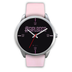 #GirlBoss Women's Watch in Silver