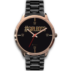 #GirlBoss Women's Watch in Rose Gold