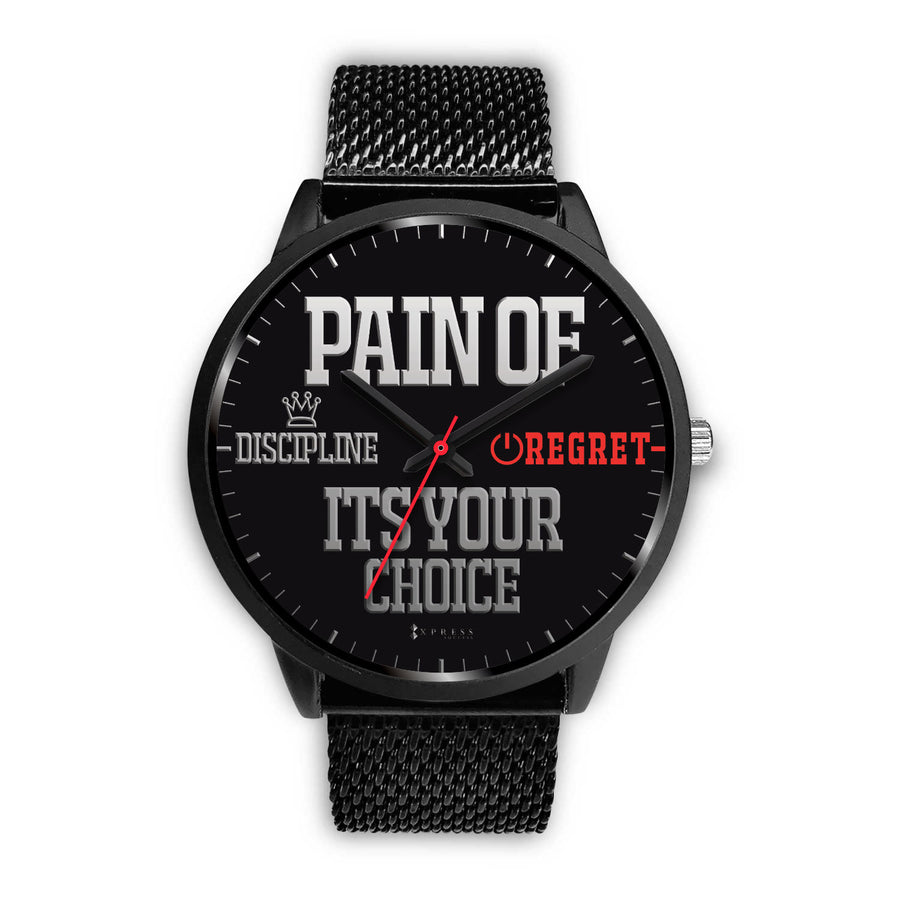 It's Your Choice Men's Watch in Black