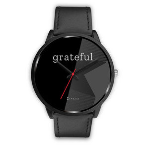 Women's Grateful Watch in Black (Black Face)