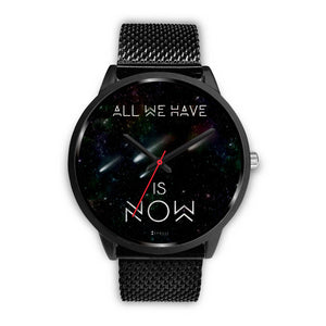 All We Have Is Now Men's Watch in Black