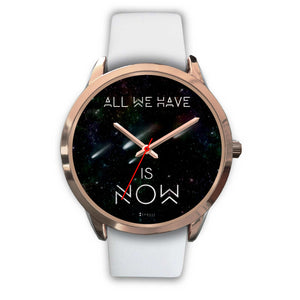 All We Have Is Now Women's Watch in Rose Gold