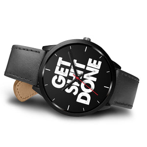 Get Sh!t Done Men's Watch in Black