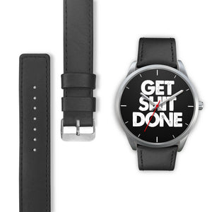 Get Sh!t Done Women's Watch in Silver