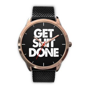Get Sh!t Done Women's Watch in Rose Gold