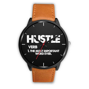 Hustle Men's Watch in Black