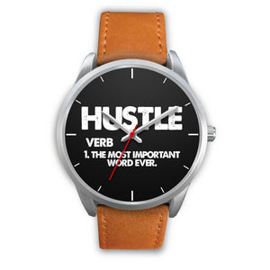Hustle Men's Watch in Silver