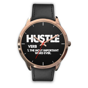 Hustle Women's Watch in Rose Gold