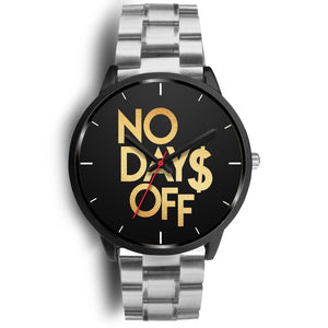 No Days Off Women's Watch in Black