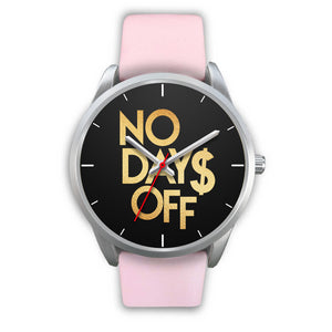 No Days Off Women's Watch in Silver