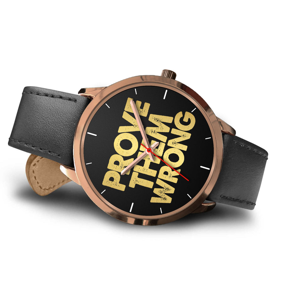 Prove Them Wrong Women's Watch in Rose Gold