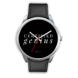 Certified Genius Men's Watch in Silver