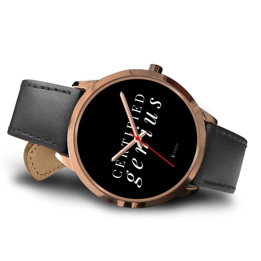Certified Genius Women's Watch in Rose Gold