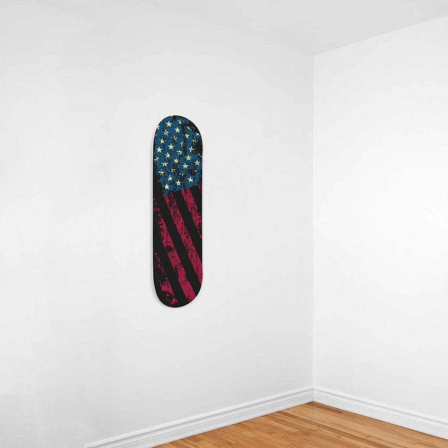 All American Hustler 1-Panel Skateboard Art