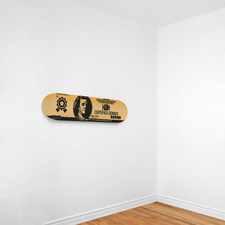 Certified Genius 1-Panel Skateboard Art