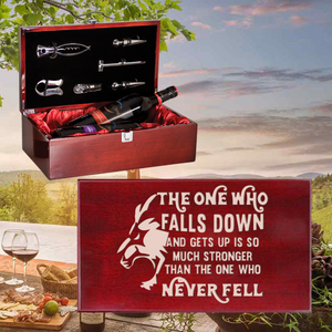 The One Who Falls Down Wine Box - Double Bottle Set (Specialty Item)