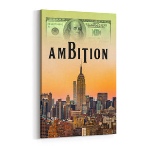 Ambition Canvas Art