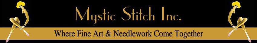 Mystic Stitch Inc. Fine Art Cross Stitch Patterns. Bringing Art To Life, One Stitch At A Time. cross stitch, cross stitch patterns