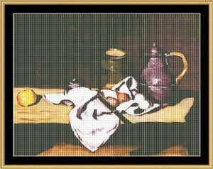 Still Life With Kettle - Cezanne  GM-58