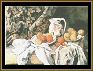 GREAT MASTER STILL LIFE SERIES Carafe & Fruit – Paul Cezanne  GMSL-05
