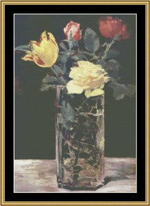 GREAT MASTER STILL LIFE SERIES Vase Of Flowers – Manet  GMSL-12 - Mystic Stitch Inc...