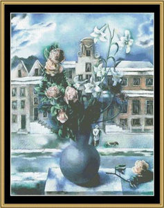 GREAT MASTER STILL LIFE SERIES    Mystery Of A Town -  GMSL-01 - Mystic Stitch Inc...