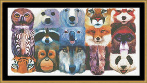 ALL THE MANY FACES  CLB-14 - Mystic Stitch Inc...