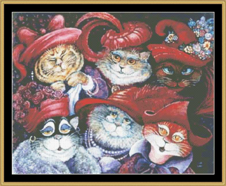 RED HAT CATS  BB-05