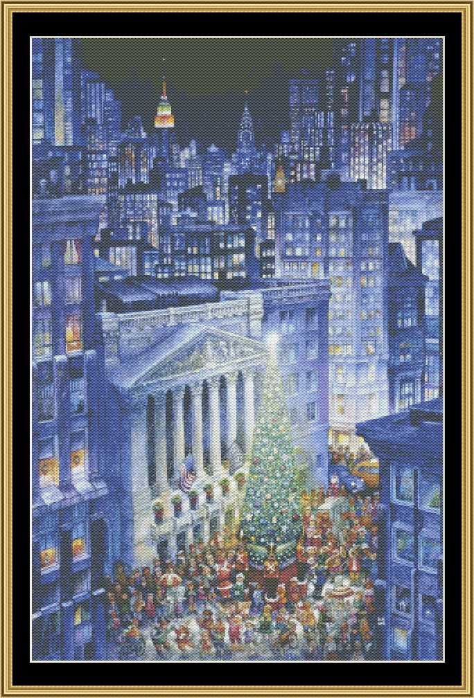 CHRISTMAS IN THE CITY  BB-57 - Mystic Stitch Inc...