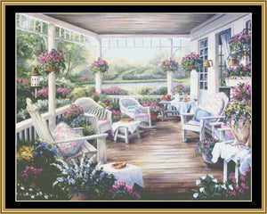 ENGLISH GARDEN COLLECTION - ENGLISH PORCH  BF-120