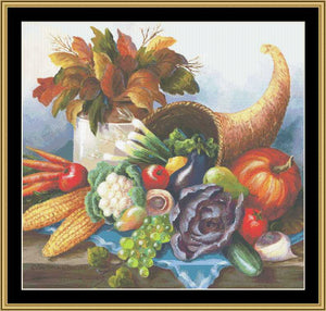 A Still Life Series - Harvest Still Life II BF-124 - Mystic Stitch Inc...