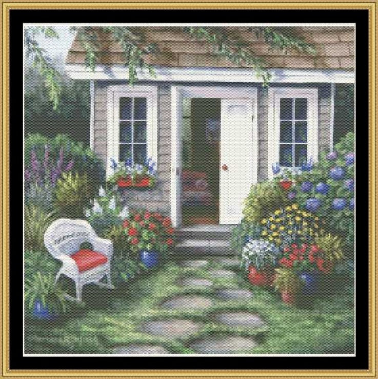 TEA IN THE GARDEN COLLECTION - COZY MOMENT  BF-174