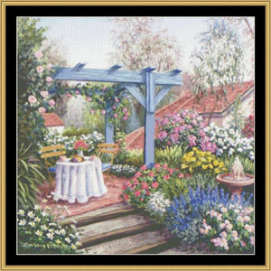 TEA IN THE GARDEN COLLECTION - TEA ON THE TERRACE  BF-202